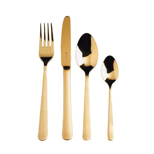 Exclusive Gold Cutlery 16 Piece GiftBox